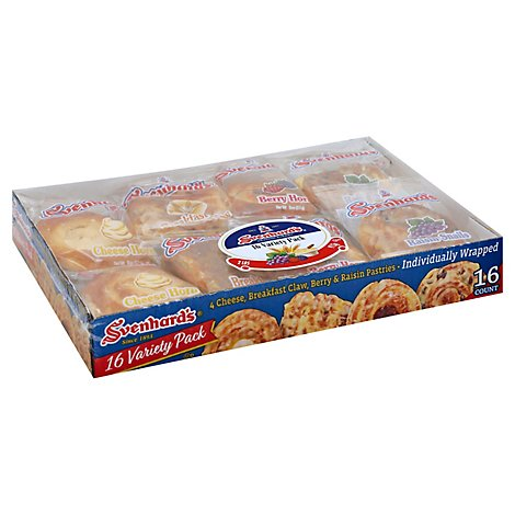 Svenhards Pastry Variety Pack - 16-28 Oz