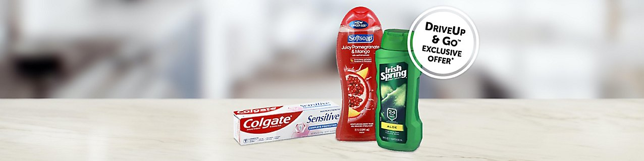 Choose from select Colgate-Palmolive personal care products