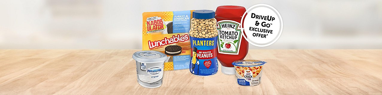 Choose from select Kraft Heinz products