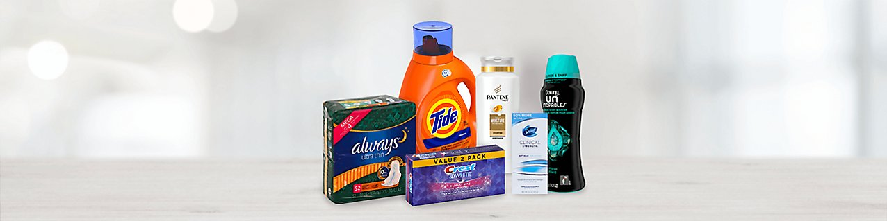 Choose from select Procter & Gamble products