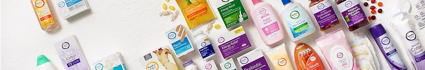 Choose from a wide selection of Signature Care personal care and health products