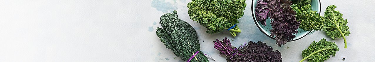 leafy green vegetable montage