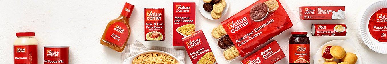 Value Corner product montage