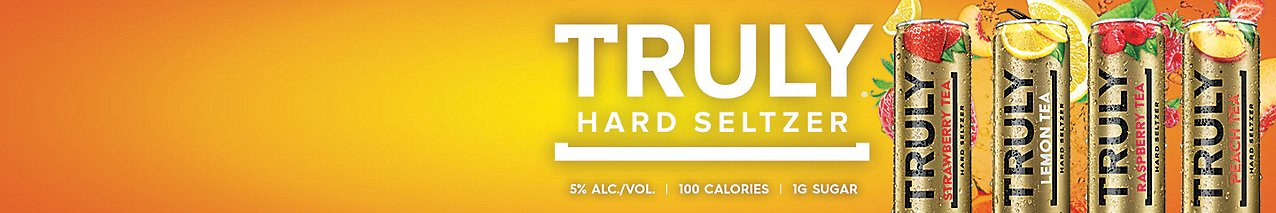 New Truly Iced Tea Hard Seltzer