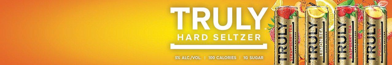 New Truly Iced Tea Hard Seltzer