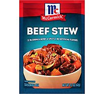 McCormick Seasoning Mix Beef Stew - 1.5 Oz