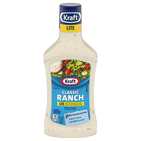 Kraft Dressing Lite Classic Ranch - Fl. Oz.