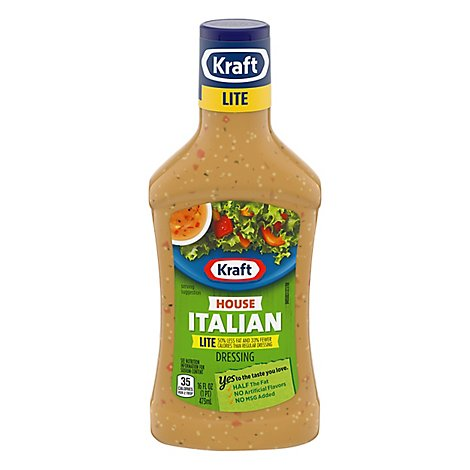 Kraft Dressing Lite Italian House - 16 Fl. Oz.
