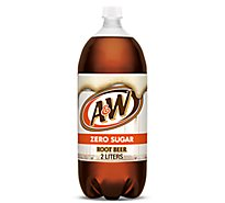 A&W Soda Diet Root Beer - 2 Liter