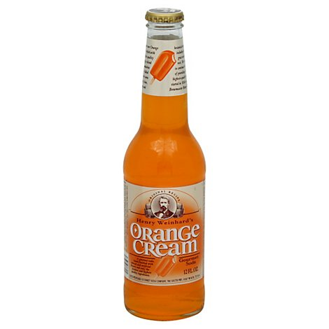Henry Weinhards Soda Orange Cream - 12 Fl. Oz.