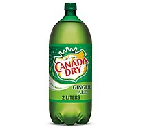 Canada Dry Ginger Ale Caffeine Free - 2 Liter