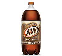 A&W Soda Root Beer - 2 Liter