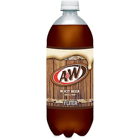 A&W Soda Root Beer - 1 Liter