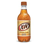 A&W Soda Cream Soda - 20 Fl. Oz.