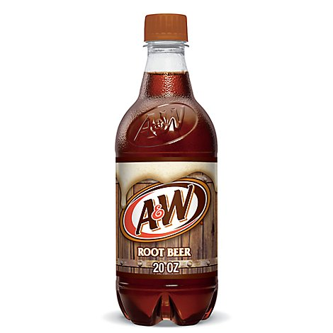 A&W Soda Root Beer - 20 Fl. Oz.