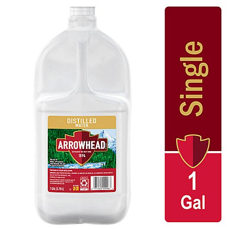 Arrowhead Distilled Water - 1 Gallon