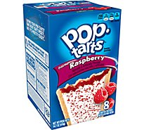 Pop-Tarts Toaster Pastries Frosted Raspberry 8 Count - 14.7 Oz