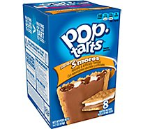 Pop-Tarts Toaster Pastries Frosted Smores 8 Count - 14.7 Oz