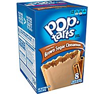 Pop-Tarts Toaster Pastries Brown Sugar Cinnamon Frosted 8 Count - 14 Oz