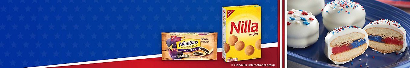 Newtons fig cookies, Nilla wafers