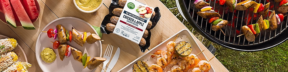 Grilling with Open Nature products