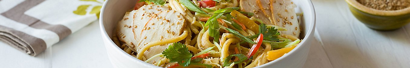 Chilled Peanut Noodle Salad