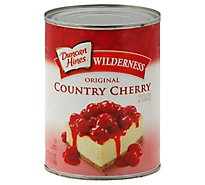 Duncan Hines Wilderness Pie Filling & Topping Original Country Cherry - 21 Oz