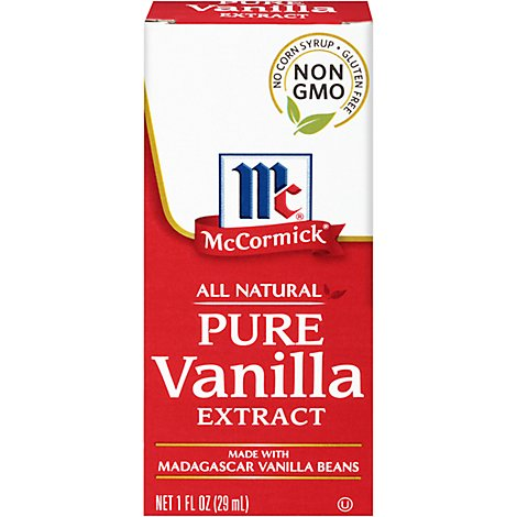 McCormick Extract All Natural Pure Vanilla - 1 Fl. Oz.