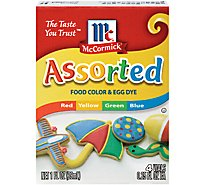McCormick Food Color & Egg Dye Assorted - 1 Fl. Oz.