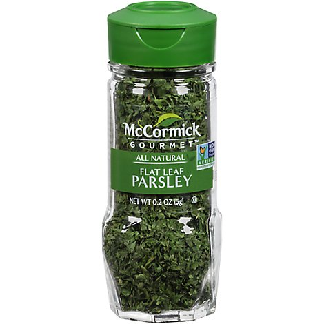 McCormick Gourmet All Natural Parsley Flat Leaf - 0.2 Oz