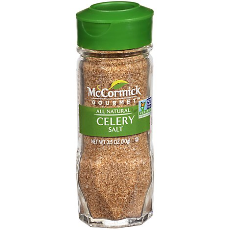 McCormick Gourmet All Natural Celery Salt - 2.5 Oz