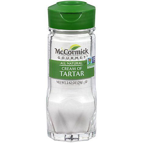McCormick Gourmet All Natural Cream Of Tartar - 2.62 Oz