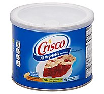 Crisco Shortening All-Vegetable - 16 Oz