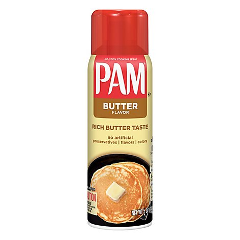 PAM Cooking Spray Butter Flavor - 5 Oz