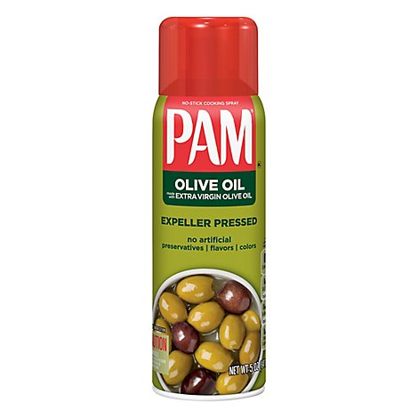 PAM Cooking Spray Olive Oil Superior No Stick - 5 Oz