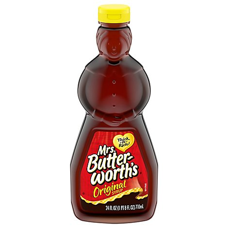 Mrs. Butterworths Syrup Original - 24 Fl. Oz.