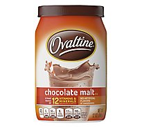 Ovaltine Powder Drink Mix Chocolate Malt - 12 Oz