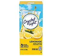 Crystal Light Drink Mix Pitcher Packs Lemonade Tub 6 Count - 3.2 Oz