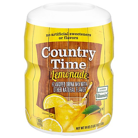 Country Time Flavored Drink Mix Lemonade - 19 Oz