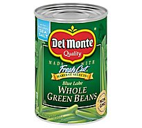 Del Monte Harvest Selects Beans Green Blue Lake Whole with Natural Sea Salt - 14.5 Oz