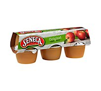 Seneca Apple Sauce Original Cups - 6-4 Oz