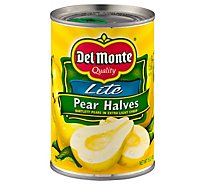 Del Monte Pears Halves in Light Syrup - 15 Oz