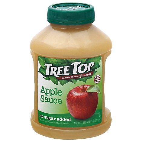 Tree Top Apple Sauce No Sugar Added - 47.3 Oz