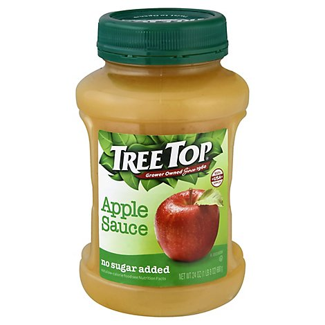 Tree Top Apple Sauce No Sugar Added - 23.8 Oz