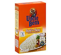 Uncle Bens Rice Parboiled Long Grain Enriched Boil-In-Bag - 15.8 Oz