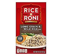 Rice-A-Roni Rice Long Grain & Wild Rice Original Box - 4.3 Oz