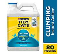 Purina Tidy Cats Cat Litter Clumping Instant Action - 20 Lb