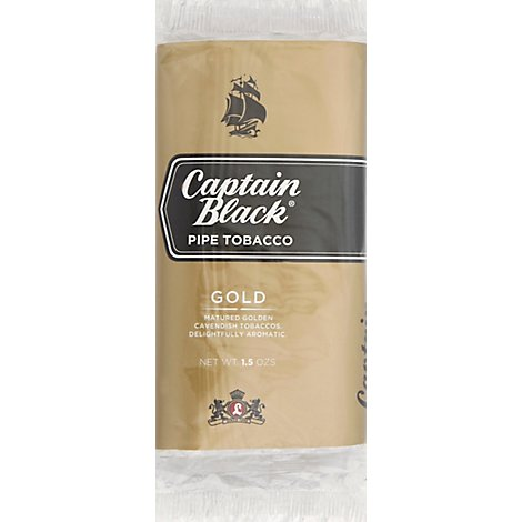 Captain Black Gold Pipe Tobacco - 1.5 Oz