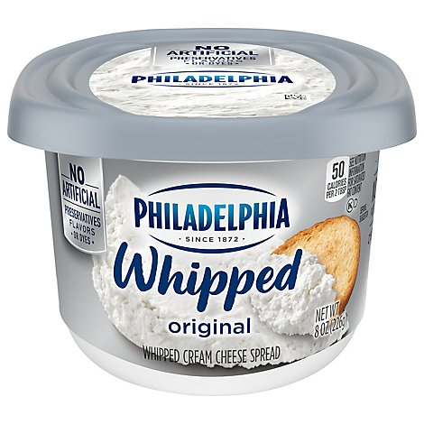 Philadelphia Cream Cheese Spread Whipped Original - 8 Oz