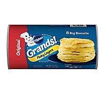 Pillsbury Grands! Biscuits Flaky Layers Original 8 Count - 16.3 Oz
